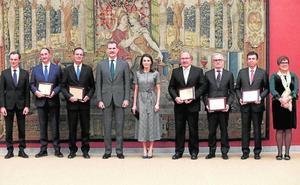 Rafael Rebolo y Pablo Artal recogen sus Premios Nacionales de Investigación