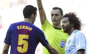 El murciano José María Sánchez Martínez arbitrará el Real Madrid-Barça de Copa del Rey