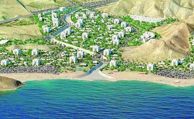 El plan urbanístico Playa de La Cola prevé levantar 2.313 casas en Águilas en diez años