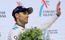 Valverde: «Mi primer triunfo con el maillot arcoíris sería histórico»