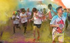 5 kilómetros de polvo de colores en el Cabezo