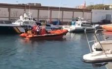 Interceptada una patera con dos personas a bordo a 11 millas de Cabo de Palos