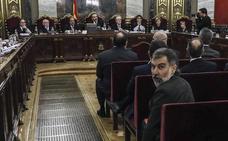 La Fiscalía interroga este martes en el juicio a los «promotores» civil y legislativo del 'procés'