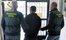 Detienen al presunto autor de un robo con violencia e intimidación en Mazarrón