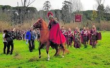 Festeros romanos ruedan 'Viriato' en Portugal