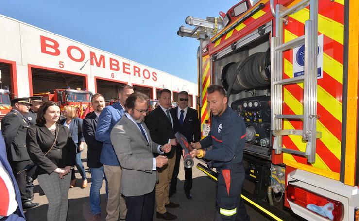 El nuevo Parque de Bomberos de Lorca, el más grande de la Región, dará servicio a más de 105.000 personas