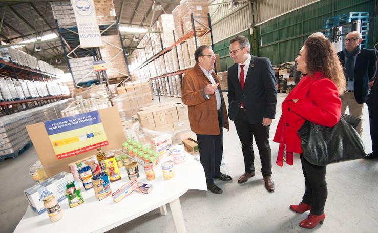El Plan de Ayuda Alimentaria repartió 3,5 millones de kilos de alimentos en 2018