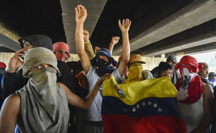 Caos y represión en Venezuela