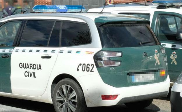 Un coche de la Guardia Civil./LV