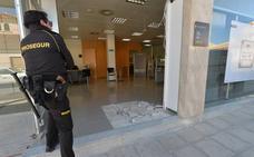 Investigan el robo de un cajero en una pedanía de Lorca