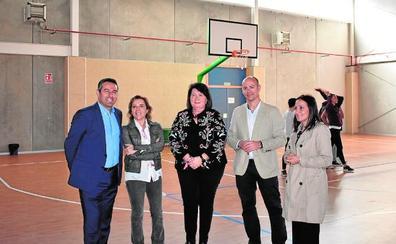 El IES Sanje amplía sus instalaciones con un nuevo pabellón y diez aulas