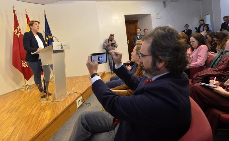Noelia Arroyo se despide del Consejo de Gobierno