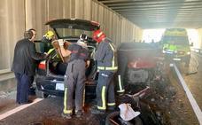 Un fallecido y dos heridas en un accidente en Las Torres de Cotillas