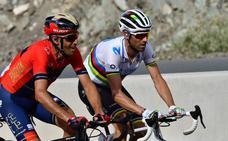 Valverde: «Roglic está fuerte, pero lo intentaré»