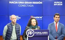 Muñoz: «El PP impulsa las infraestructuras para garantizar una Región del siglo XXI»