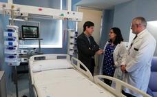 El Santa Lucía ya dispone de una unidad para pacientes pediátricos semicríticos