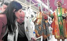 Restaura las tallas de los Santos Médicos