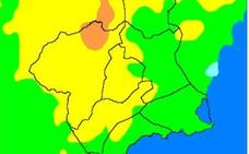 Riesgo de incendio muy alto en la Región de Murcia por el aumento inusual de las temperaturas
