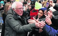 Sanders lanza su campaña en el lugar donde la perdió
