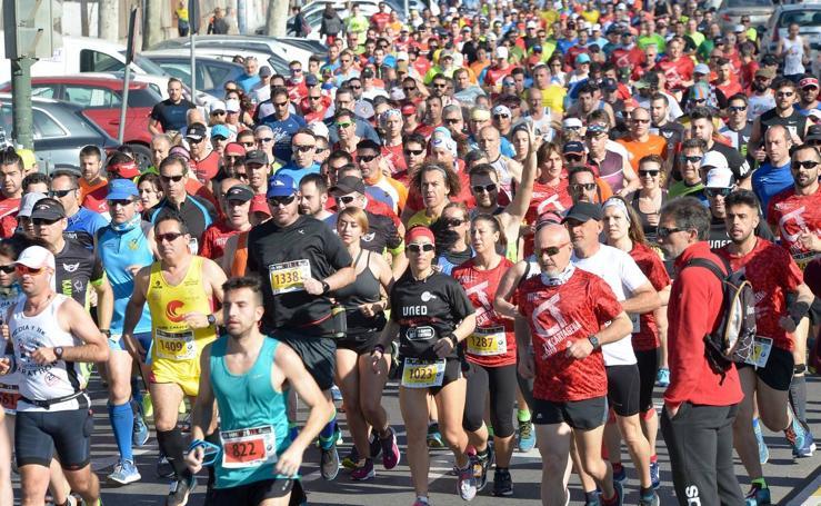 Manuel Marchena gana la Media Maratón de Cartagena