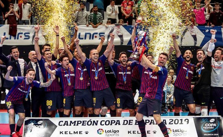 El Barça Lassa conquista su cuarta Copa de España
