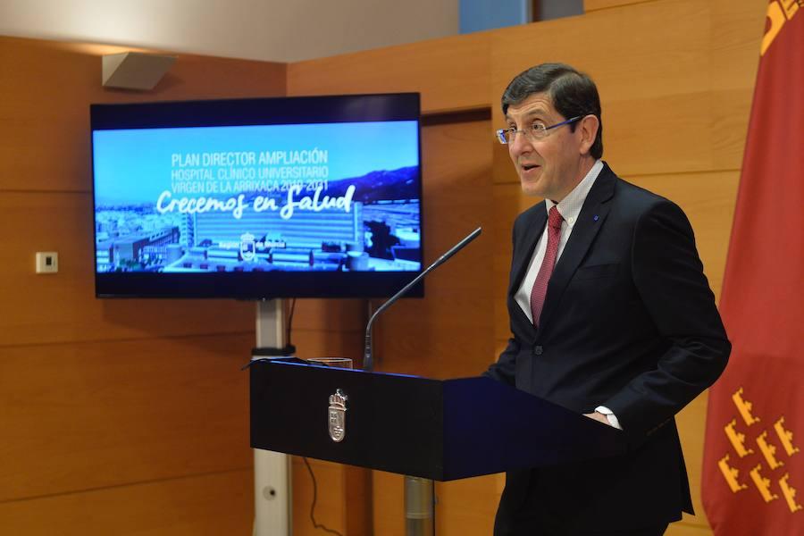 La Arrixaca contará con dos nuevos edificios para albergar más quirófanos y un renovado hospital de día