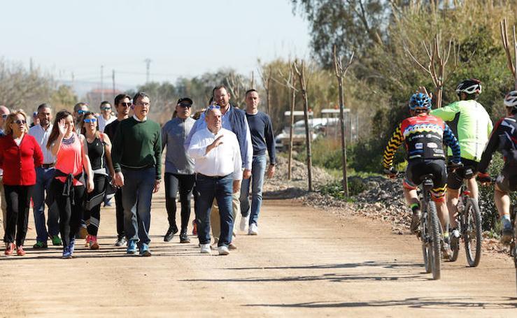 Un corredor entre siete pedanías de Murcia