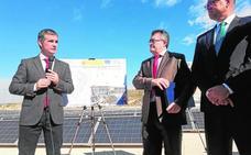 Inauguran una parte del mayor parque solar de España asociado a los cultivos