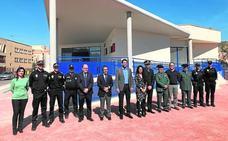 Inauguran la nueva comisaría de la Policía Local de Abarán nueve años después del inicio de las obras