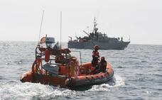 Simulacro de rescate de Salvamento Marítimo en aguas de Águilas