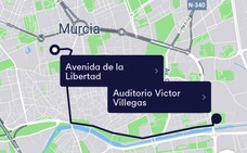 Esto es lo que cuesta utilizar Cabify en Murcia
