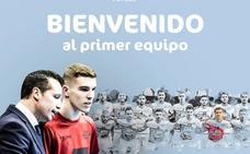 El joven ala sevillano Alberto García pasa a ser del primer equipo de ElPozo