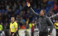 Luis Enrique: «No hubo nada con Jordi Alba»