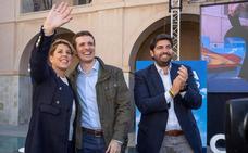 López Miras: «Mi compromiso no llegará a cumplirse si en el Gobierno no está Pablo Casado»