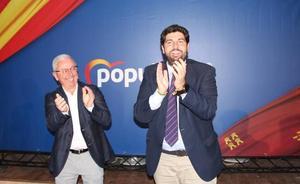 Miras presenta al candidato del PP a la alcaldía de Librilla, «un funcionario público, honesto y honrado»