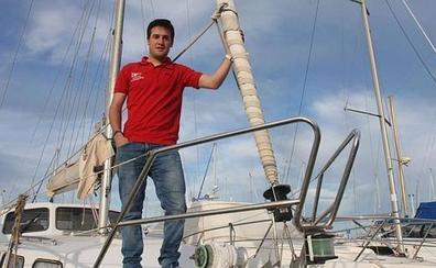 El regatista murciano José Manuel Ruiz, subcampeón de España de la clase 470