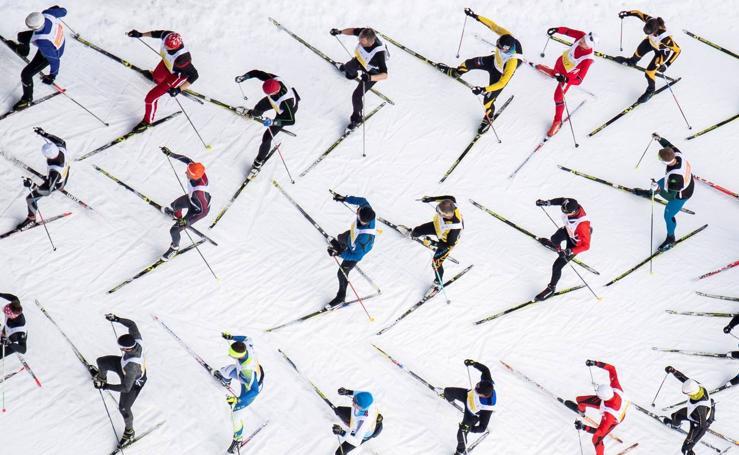 Maratón de esquí