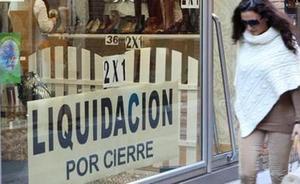 Baja el número de empresas que se crean en la Región de Murcia y aumentan las que han tenido que cerrar
