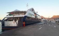 El crucero de lujo 'Clio' atracará en Cartagena cuatro veces en 2019