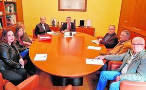 La plataforma de las riadas destaca los avances para construir las presas en Lorca