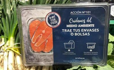 Trae tu propio táper: la iniciativa de Carrefour que ya está disponible en España