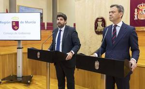 López Miras: «Díez de Revenga no va a dimitir ni lo va a cesar nadie»