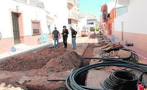 Comienza la mejora de la red de agua potable de Puerto Lumbreras