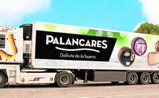 Palancares Alimentación renueva la imagen de su flota de camiones