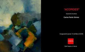 El pintor Carlos Pardo traslada la música al lienzo