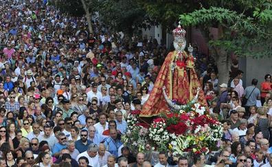 La Virgen de la Fuensanta baja esta tarde desde su santuario a la Catedral