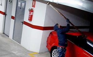 Detenido un delincuente de Beniaján relacionado con medio centenar de robos en vehículos