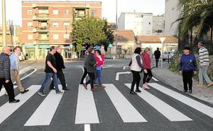 Quejas vecinales por «las prisas» para la apertura de un nuevo vial en El Palmar