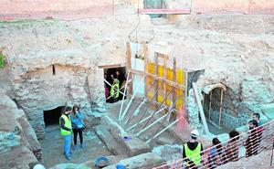 Fomento da otros 400.000 euros para la excavación del Anfiteatro