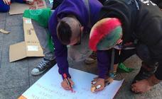 Los estudiantes hacen huelga por el cambio climático